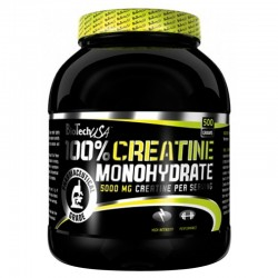100% Creatine Monohydrate 500 Gr. - Bio Tech Usa