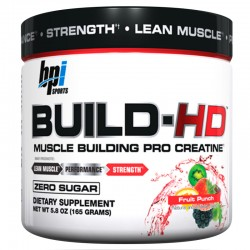 Creatina Build Hd 165 Gr - Bpi Sport