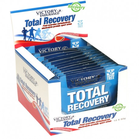 Recuperador Muscular Total Recovery sobres 12x50Gr - Victory Endurance