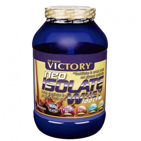 Proteinas Aisladas Isolate Whey 100 CFM 900 Gr. - Victory