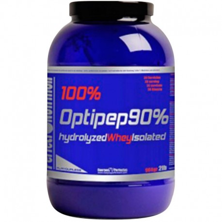 Proteinas Hidrolizadas 100% Optipep 90% Neutra 908 gr - Perfect Nutrition