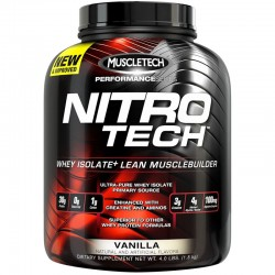Proteinas NitroTech Performance 1.8 Kg- Muscletech
