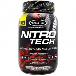 Proteinas Concentradas Nitro tech Performance 907 Gr - Muscletech