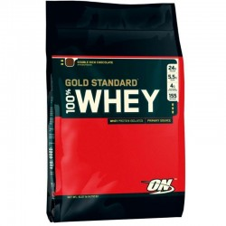 100% Whey Gold Standard - 4,5 Kg - Optimun Nutrition