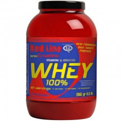 Proteinas Concentradas 100% Whey protein 4.5 Lb - Perfect Nutrition Red Line