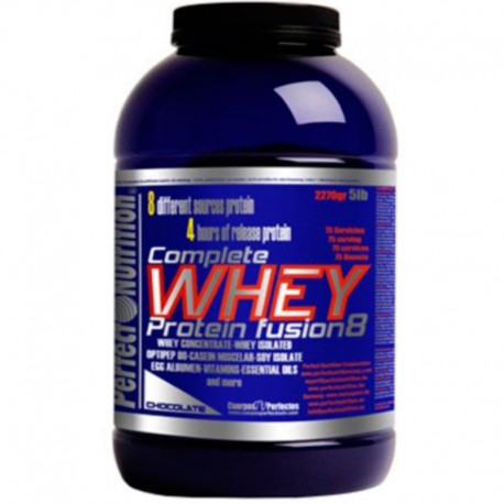 Proteinas Secuenciales Complete Whey Fusion 8 - 2.267 Kg. - Perfect Nutrition