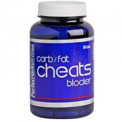 Cheats Carb Blocker 90 capsulas - Perfect Nutrition