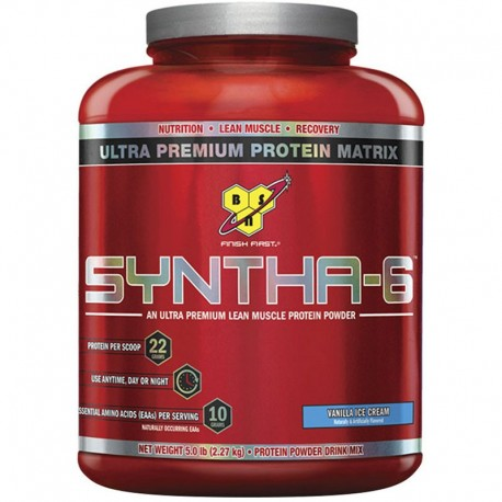Proteinas Secuenciales Syntha 6 5Lbs - Bsn