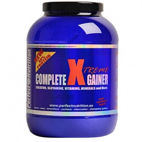 Complete x Gainer 3.175 Kg - Perfect Nutrition