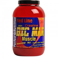 Carbohidratos Big Man Muscle 1,5Kg - Perfect Nutrition Red Line