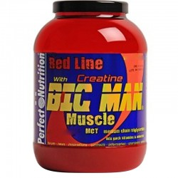 Carbohidratos Big Man Muscle 3.6Kg - Perfect Nutrition Red Line
