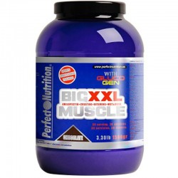 Carbohidratos Big Muscle XXL 1.5 Kg.- Perfect Nutrition