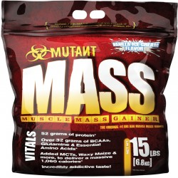 Carbohidratos Mutant Mass 15Lb - Mutant