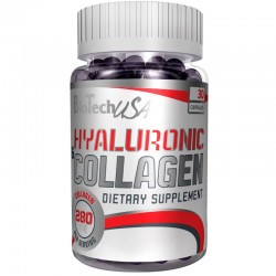 Hyaluronic & Collagen 30 Caps.- Bio Tech Usa