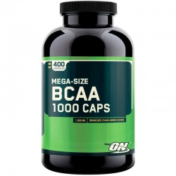 BCAA 1000 - 400 Caps - Optimun Nutrition