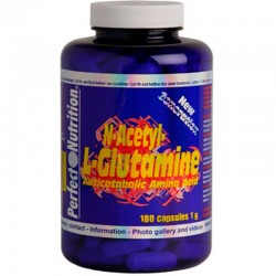 N-Acetyl Glutamine 180 Cap - Perfect Nutrition