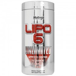 Lipo 6 Unlimited 120 Liquid Caps - Nutrex