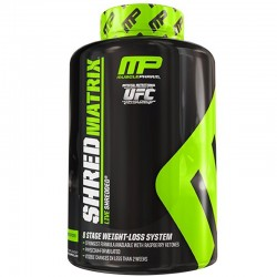 Quemadores de Grasa Shred Matrix 120 Caps - MusclePharm