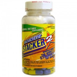 Quemadores de Grasa Stacker 2 100 Caps - Stacker2