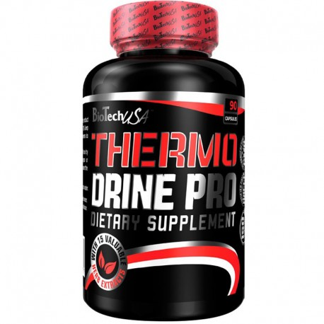 Quemadores de Grasa Thermo Drine 60 Caps - Bio Tech Usa