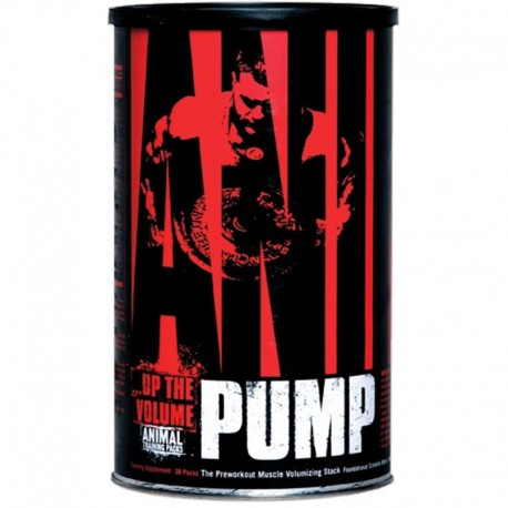 Pre Entreno Animal Pump 30 Packs - Universal