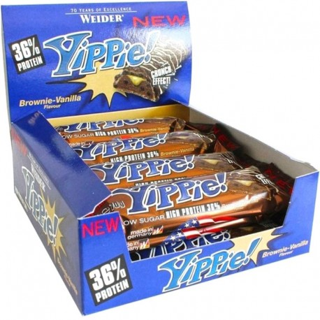 Barritas Yippie! Bar 12x70Gr - Weider