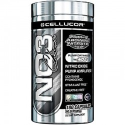 Oxido Nitrico NO3 Chrome 180 Caps - Cellucor