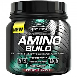 Aminoacidos Amino Build 270 Gr de Muscletech