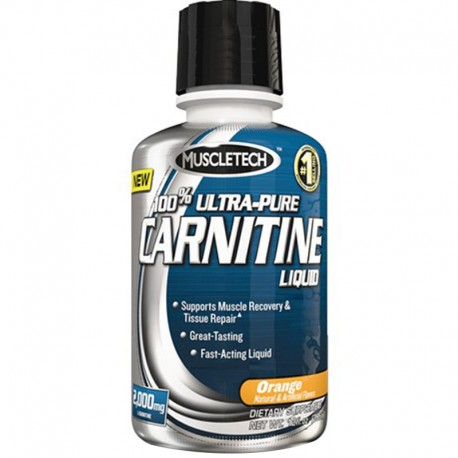 Carnitina Liquida 100% Ultra Pure Liquid L Carnitina 473 ml - Muscletech