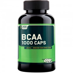Aminoacidos Bcaa 1000 200 Caps - Optimum Nutrition