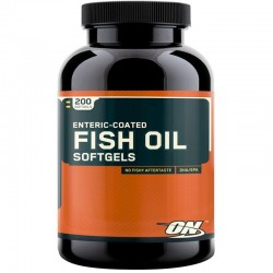 Enteric Coated Fish Oil 200 Softgels - Optimum Nutrition