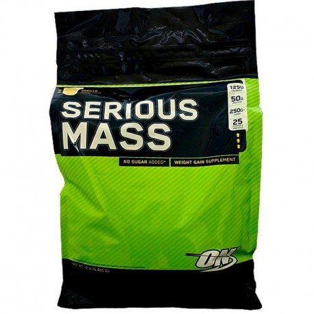 Carbohidratos Serious Mass 12 lb - Optimum Nutrition