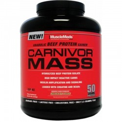 Carbohidratos Carnivor Mass 6lb - Musclemeds