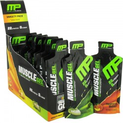 Proteinas Concentradas Gel MuscleGel Variety Pack 12 Gels - MusclePharm