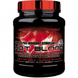 Pre Entrenos Hot Blood 2.0 300 Gr - Scitec Nutrition