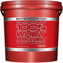 Proteinas Concentradas 100% Whey Protein Professional 5 KG - Scitec Nutrition