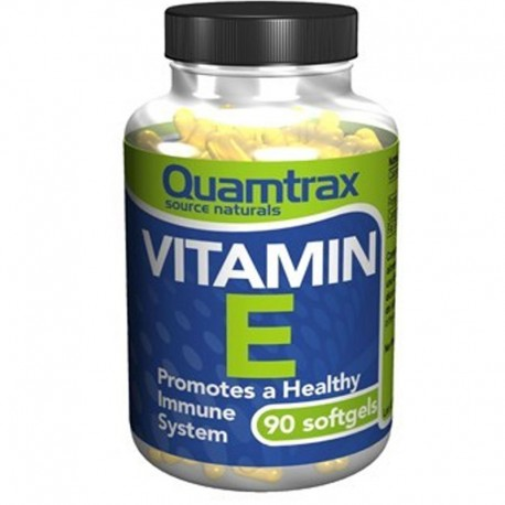 Vitamina E 400 IU 90 Softgels - Quamtrax