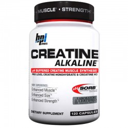 Creatina Alkaline Power Series 120Caps - BPI