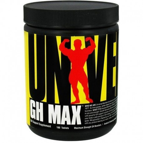 Pro Hormonales Gh Max 180 Tabs - Universal Nutrition