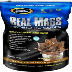 Carbohidratos Real Mass Probiotic Series 12 Lb - Gaspari