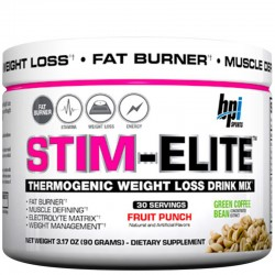 Quemagrasas Stim Elite 30 servings - Bpi