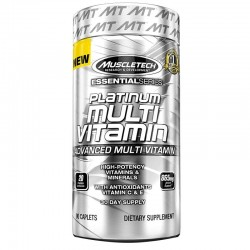 Multivitaminas Platinum 90 Caps - MuscleTech