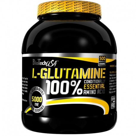 100% L-Glutamine 500Gr - Bio tech usa