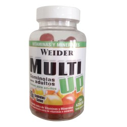 Vitaminas y Minerales Multi Up 80 Gummies - Weider