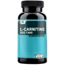 L Carnitina 500 Mg 60 Tabs - Optimum Nutrition